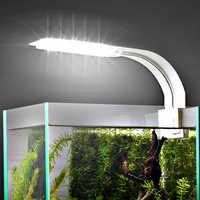 Luz de acuario para acuario, acuario plantado, 10 W/5 W/3 W, luz LED para acuario, iluminación LED, lámpara de Luces antiniebla con Clip
