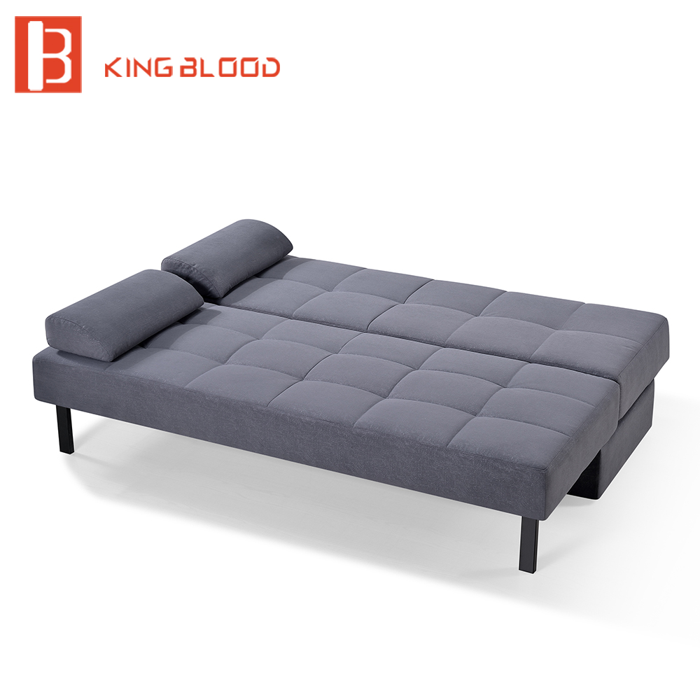 Pull Out Convertible Fabric Sofa Bed