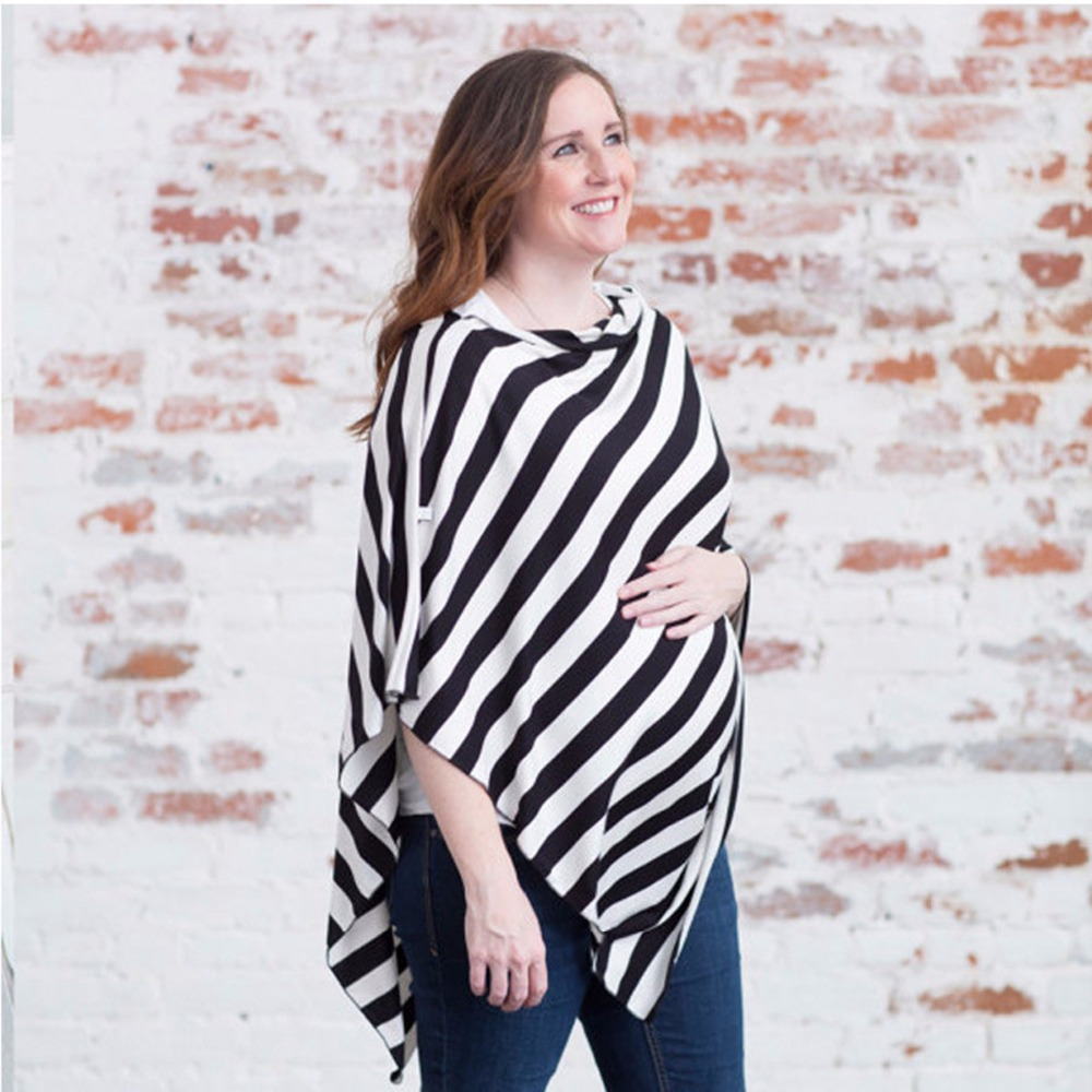 New Cotton Nursing Covers Scarf Baby Car seat Cover 3 Styles Stripe Mum Breastfeeding Cover nursing Scarf Blanket Cloth
