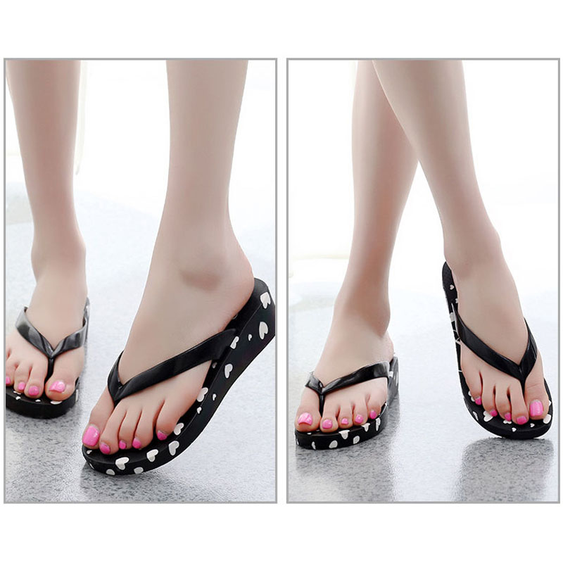 Summer Women Flip-Flop Sandal Printed Beach Casual Slippers Girl Thong Flip Flop Best Sale-WT walkmaxx man flip flop