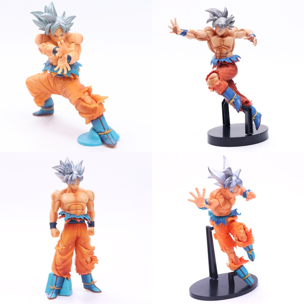 NEW Figurines Dragon Ball Z Super Son Gokou Goku Super Ultra Instinct Dominado (Migatte No Gokui) Model PVC Action Figure Toys