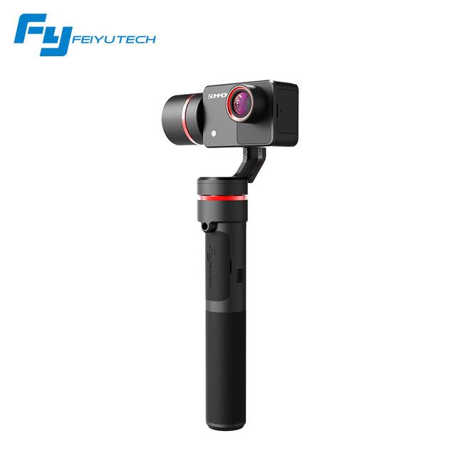FY-SUMMON Mais recentes 3 eixos handheld brushless cardan câmera gravação de vídeo