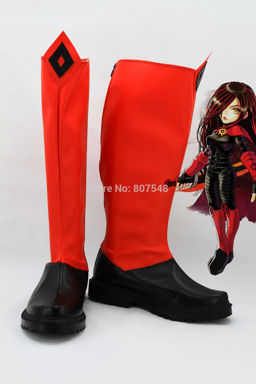 New Arrival SP Cara Cosplay Boots Women Girls Shoes Custom ...