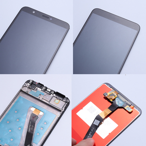 Image 4 - สำหรับ Huawei P สมาร์ทจอแสดงผล LCD Touch Screen Digitizer สำหรับ Huawei P Smart LCD กรอบ FIG LX1 L21 l22 หน้าจอ