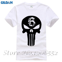 De Punisher Schedel Mannen Mode T-shirt Navy Seal Team Print Mens Camisetas Hombre Kleding Harajuku Stijl Tshirt Homme