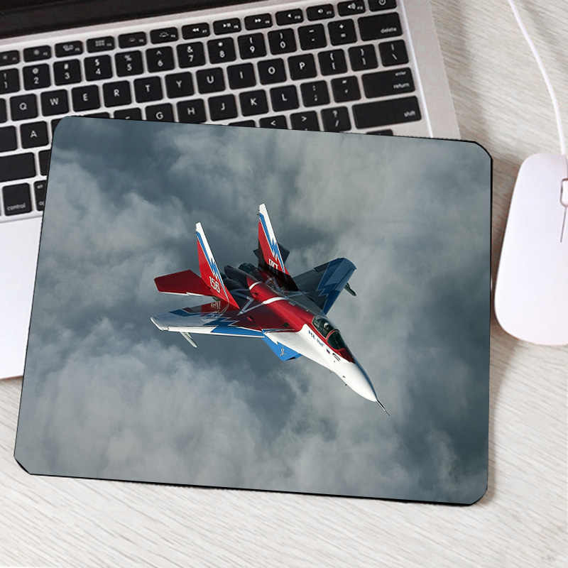 Congsipad Popular avión liso fresco impreso Pc ordenador ratón Mini Pc tableta Gamer Mouse Pad decorar y amantes lisos