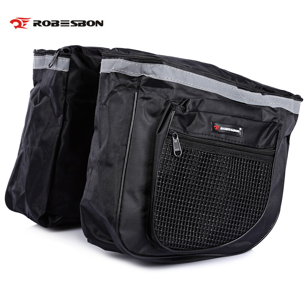 Bicycle Accessories 2019 New Style Robesbon 25l Bike Bags Mtb Mountain Bike Rack Bag Double Side Bicycle Rear Seat Trunk Bag Handbag Pannier Clcyling Bags Cycling