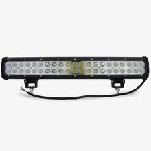 20 inch 12V 126W Combo  led work light bar for offroad  trucks tractor ATV  4X4 126W led light bar light off road bar led IP68
