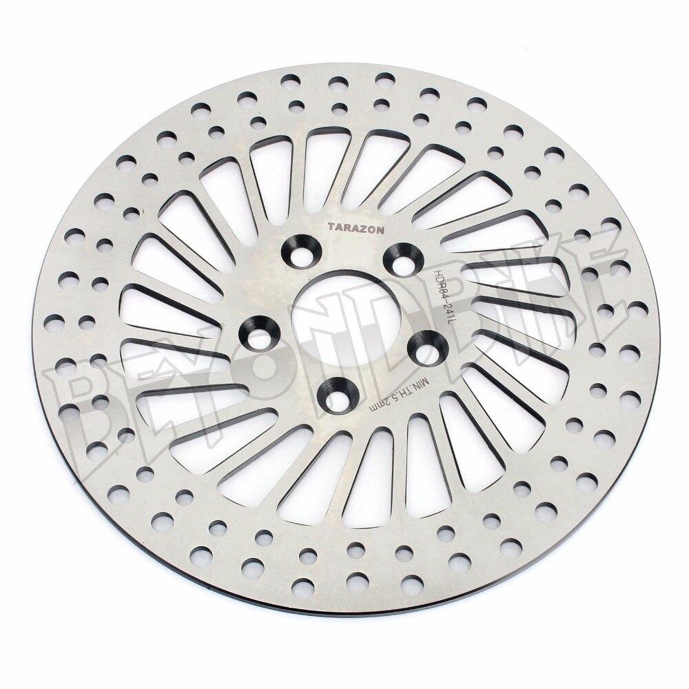 11.5 Rear Brake Disc Rotor for Sportster 1200 1100 1000 883 XLH Dyna 1340 FXDB FXR FLST FXR FXS FLST FXST 1340 Fat Boy Softail