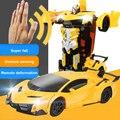 2019 Gesture sensing RC Auto Transformation Roboter Modelle 1/12 Fernbedienung Auto Fahren Sport Autos stick Spielzeug Auto für Erwachsene /Kid