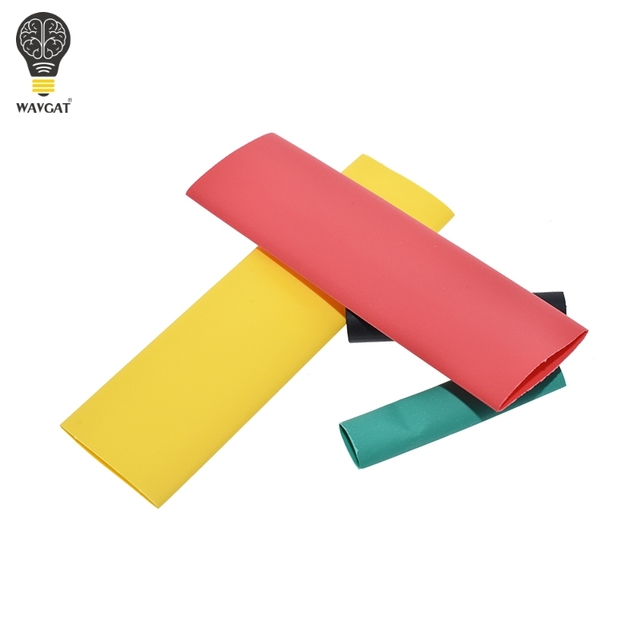 127Pcs / 328Pcs Car Electrical Cable Tube kits Heat Shrink Tube Tubing Wrap Sleeve Assorted 8 Sizes Mixed Color 3