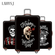 The New Thicken Luggage Protection Cover 18-32 inch Suitcase cover Trolley elastic dust cover Travel accessories