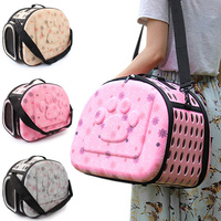 42*26*32cm EVA Foldable Pet Carries Bags For Small Dogs Singles Portable Breathable Transport Box Cat Puppy Dog Travel Handbag