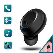 Mini Bluetooth Беспроводной наушники Невидимый вкладыши в ухо Гарнитуры Hands Магнитная USB Зарядное устройство наушник с микрофоном для телефона