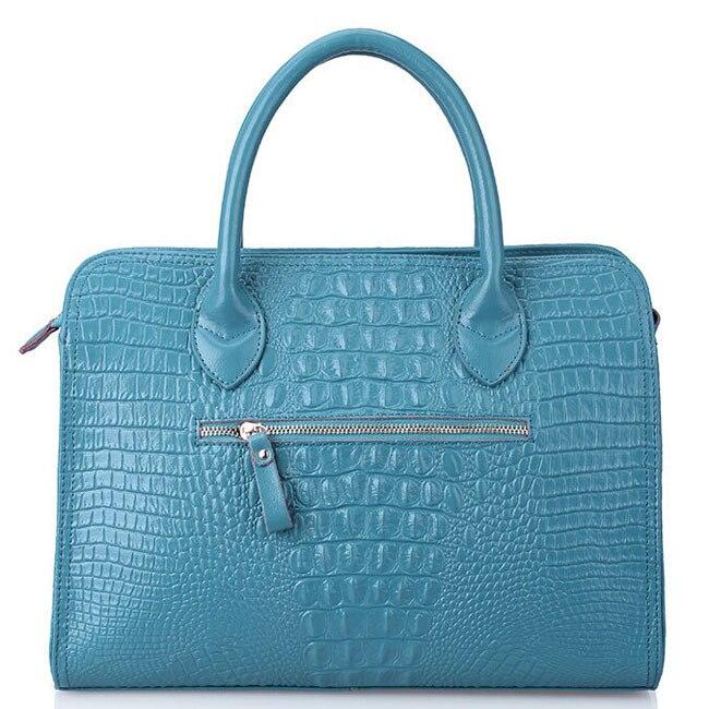 2015 new crocodile grain women handbag new fashion bolsas genuine leather handbag trendy shoulder bag hot women messenger bags