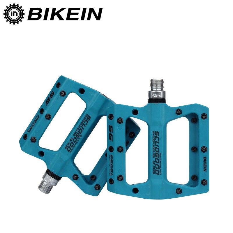 BIKEIN Fibra di Nylon Ciclismo Mountain Bike Pedale Piattaforma 9/16