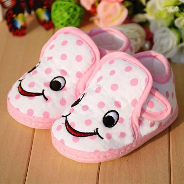 Recién nacido bebé zapatos masculinos de las muchachas el bebé 0-1-2 años de edad zapatos del niño del bebé de primavera y otoño zapatos de suela suave