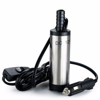 Mini Submersible Diesel Fuel Suction Pump 38MM Stainless Steel DC 12V 12L Min 25W Car Cigarette