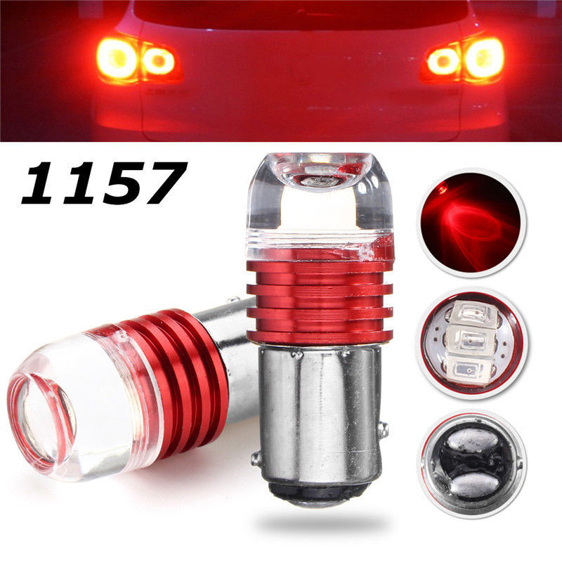 100pcs 1157 Led BAY15D P215W 1156 BA15S Strobe Flash Light Brake Blink Light Lamp Bulb 12V Red White Blue Auto Tail Stop Light (6)