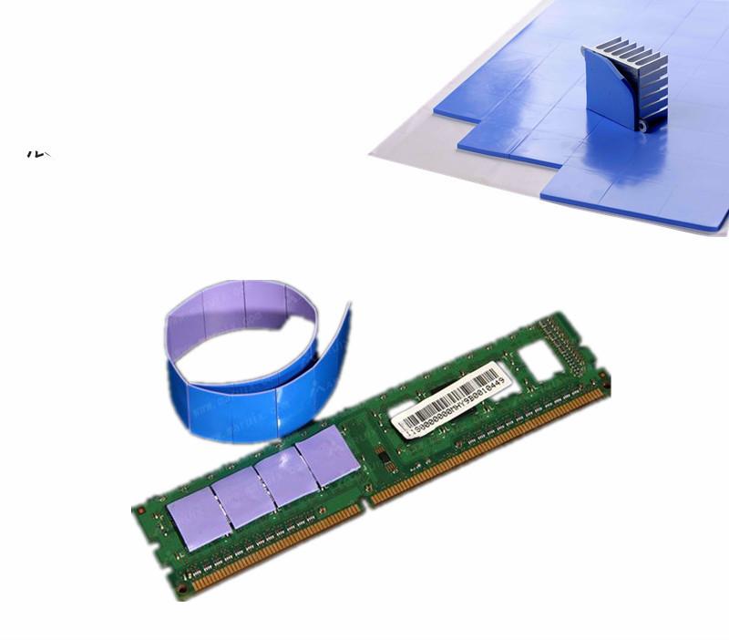 1 Piece 100x100x1mm Thermal Conductive Silicone Pad Chip Heatsink (Uncut) 4