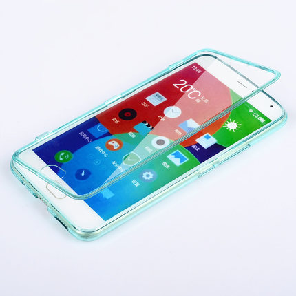 Meizu Pro 5 Case Silicone Flip Full Protector Cover TPU Silicon Mobile Phone Bag Cases Pro5 Transparent Accessory Capa Coque