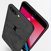 Cloth Case For iPhone X XS Case Ultra Thin Soft TPU Edge Shockproof Business Style Phone Cover For iPhone 6 6S 7 8 Plus XR case xincuco ultra thin leather protective case for iphone 6s plus 6 plus simple business style dark blue