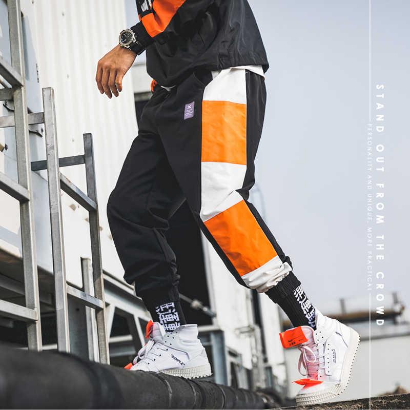 2019 спортивные штаны мужские комбинезоны уличная легкая хип-хоп шаровары Повседневные мужские брюки Джоггеры мужские