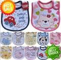 5pcs/lot Baby Boy Girl Unisex baberos Children Infant Carter baby Bibs Waterproof Saliva Towel baberos animal