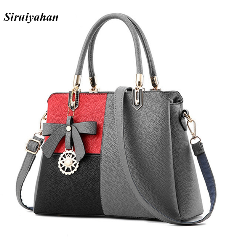 Siruiyahan Luxury Handbags Women Bags Designer Handbags High Quality Bags Handbags Women Famous Brands Shoulder Bag Female Bolsa women peekaboo bags flowers high quality split leather messenger bag shoulder mini handbags tote famous brands designer bolsa