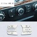 Автомобильный Стайлинг  кондиционер  кнопки управления CD  декоративные панели  наклейки  чехлы для BMW e60  5 серий  интерьерные автомобильные а...