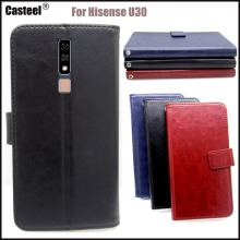 Casteel Classic Flight Series high quality PU skin leather case For Hisense U30 Case Cover Shield