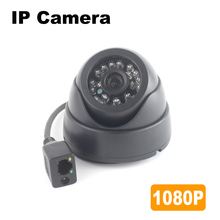 1080P IP Camera HD 2MP OV2710 CMOS Sensor 24PCS LEDs IR Night Vision Indoor Dome Surveillance Security Camera Mobile phone APP