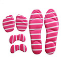 Palmilhas Salto Alto-Sapatos de salto alto Definir Silicone Pasta + 4d Massagem Palmilha + Pré-palm Pad Anti-dor Cuidado Espessamento Pad Metade almofada