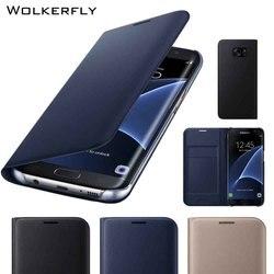 Luxe Carte Fente Flip étui pour samsung S8 S9Plus S6 S7 bord A3 A5 A7 A8 Note9 Note8 J5 J7 Premier Note5 Étui En Cuir Coque Funda