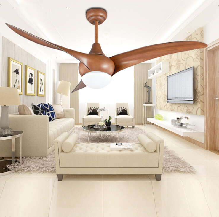 52 inch led dc 30w village ceiling fans with lights - Dining room ceiling fan ...