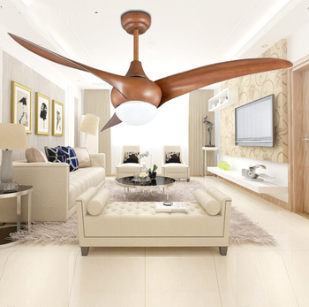 52 inch LED  DC 30w village ceiling fans with   lights minimalist dining room living room   ceiling fan with remote control Lamp