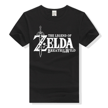 2017 Summer Men Women T-shirt Game The Legend of Zelda Breath of the Wild Short Sleeve Shirt Tops