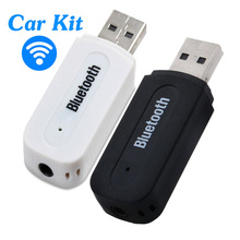 Mini 3.5mm AUX Bluetooth Car Kit Wireless USB Audio Music Receiver Adapter Dongle Universal for Phone Tablet PC Portable Speaker