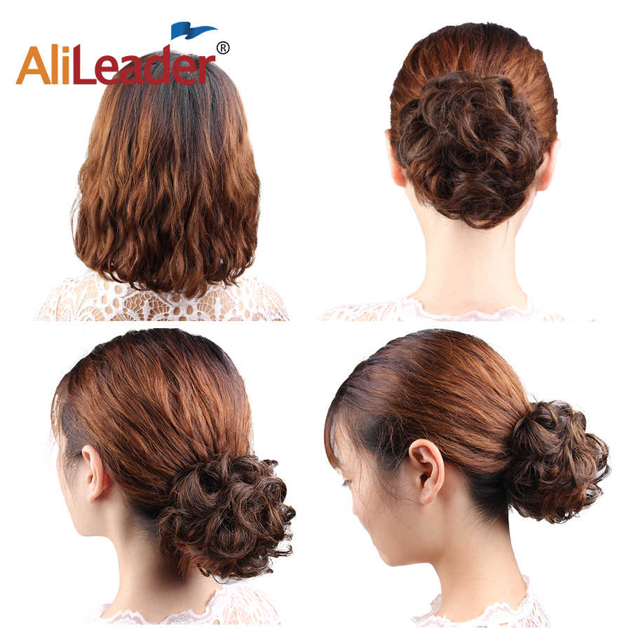Detail Feedback Questions About Alileader Short Tail Chignons Hair