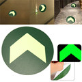 Luminous Emergency Fire Exit Warning Sign Wall Tattoo Stickers Safety Notice For Schools Hotels New Arrival High Quality
