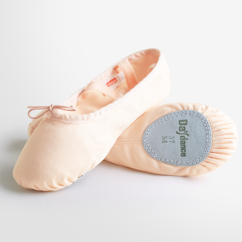 Girls Women Canvas Ballet Dance Shoes Ballet Slippers Adult Kids Dance Slippers