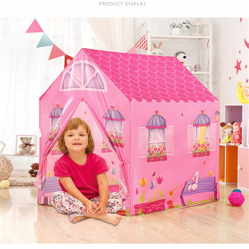 Kids Game House Princess Play Tent Baby Play Yard Tienda Corralito Portable Toy Children Tents Safe