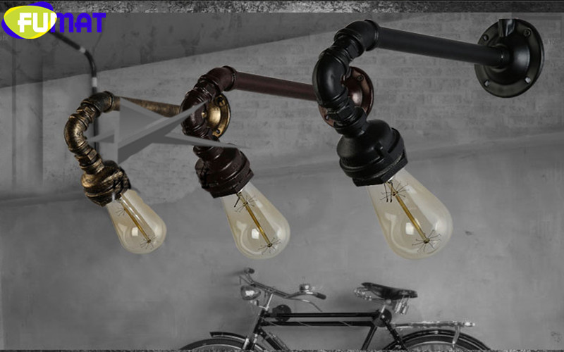 Water Pipe Wall Sconces 9
