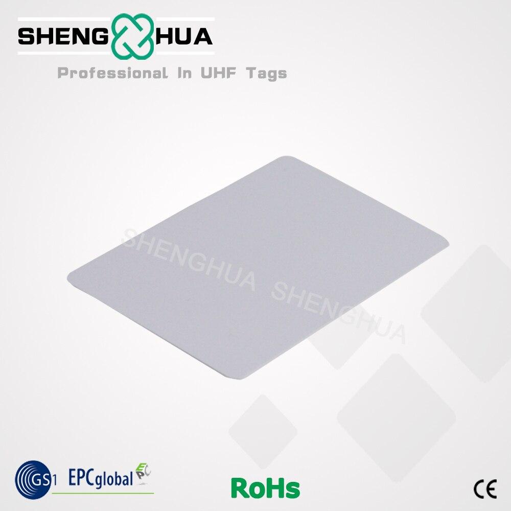200pcs/lot UHF 915MHz Passive RFID Cards Simple White PVC Business ...