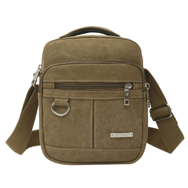 High Quality Canvas Bag Men Casual Travel Crossbody Male S Military Shoulder Messenger Handbag