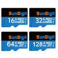 SunDigit Карта Micro Sd 32 ГБ Класс 10 16 ГБ/64 ГБ/128 ГБ Class10 UHS-1 TF Карта Флэш-Памяти памяти Microsd для Смартфонов Камеры
