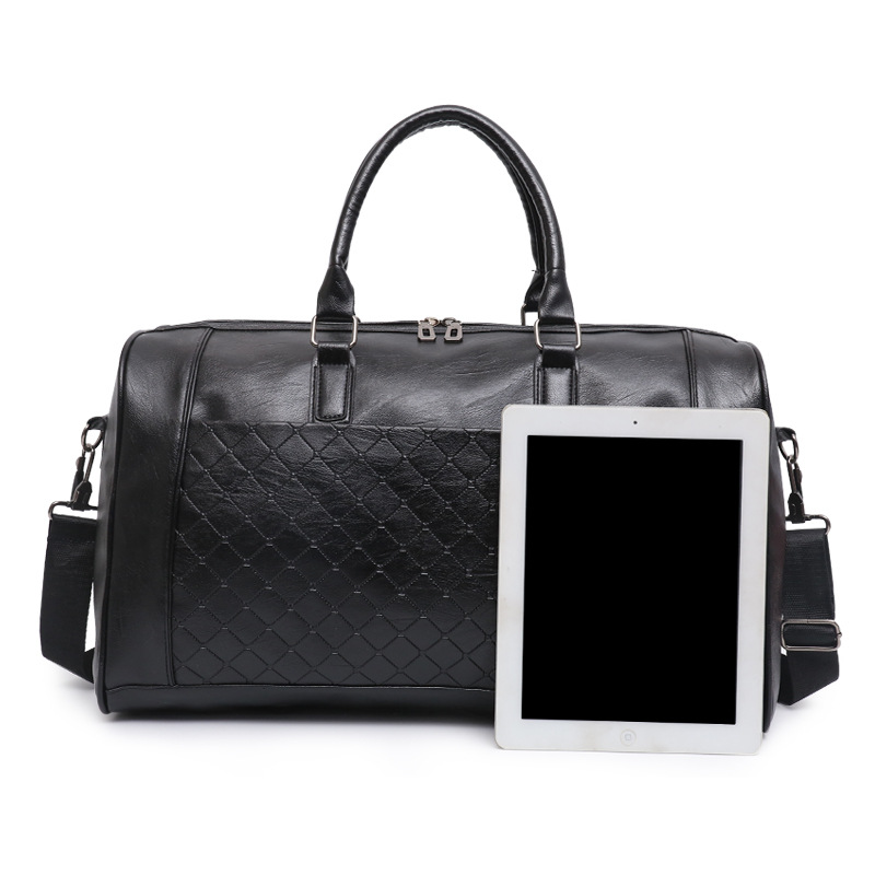 Us 23 39 40 Off Amletg Duffle Designer Storage Bags Travel Bag Leather Weekend Suitcase And Cube Ng Luggage In From