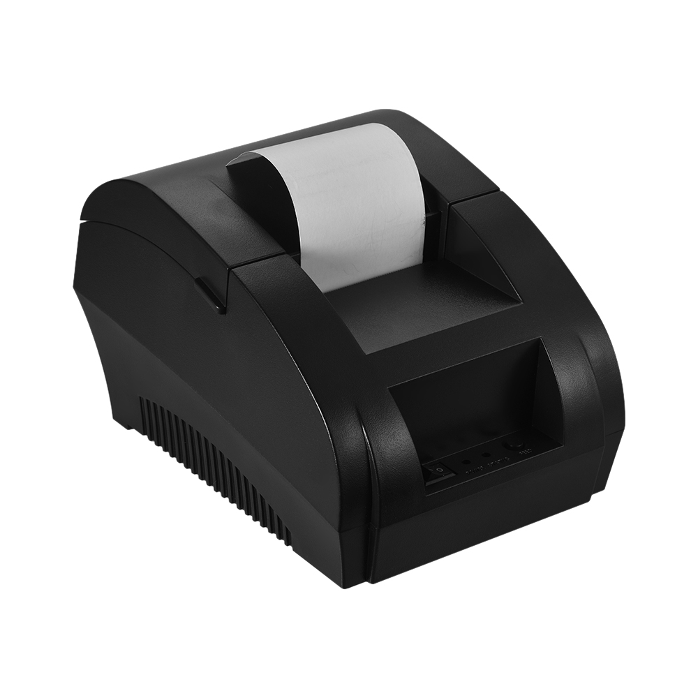 BT Thermal Printer 58mm Restaurant Retail Receipt Ticket POS Printing for IOS Android Windows supermarket stores office image