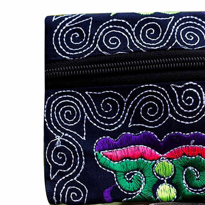 Sıfır Kadınlar Etnik El Yapımı Işlemeli Bileklik el çantası Vintage Çanta Cüzdan Dropshipping Haziran #6
