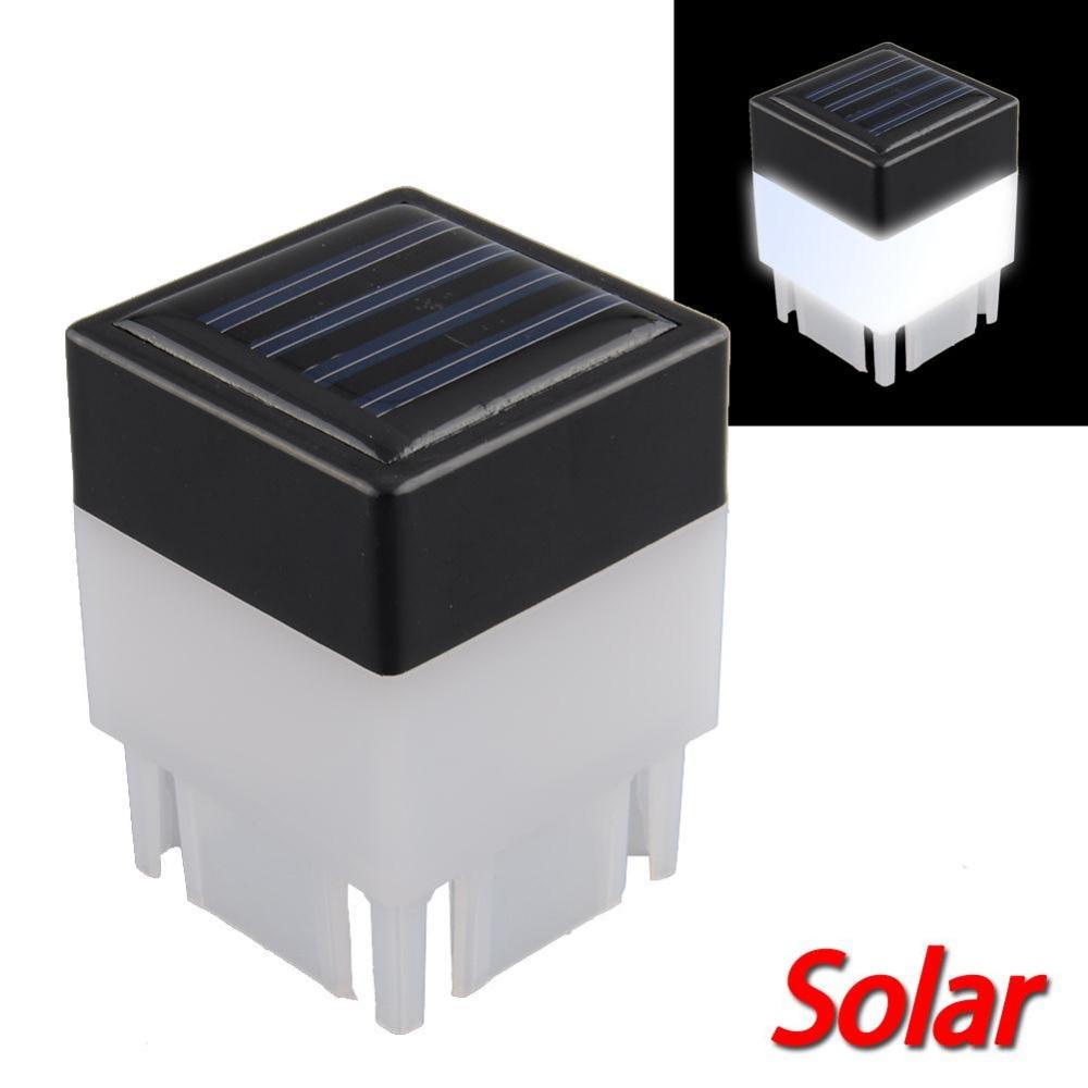 Online kaufen gro handel solar zaun posten licht aus china for Solar licht